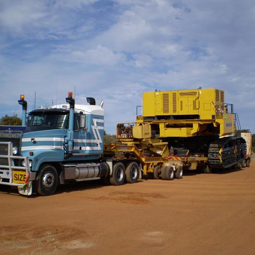 We can move your equipment, anywhere in the world from our base in Western Australia